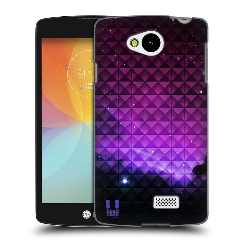 Plastové pouzdro na mobil LG F60 HEAD CASE PURPLE HAZE (Kryt či obal na mobilní telefon LG F60 D390n)