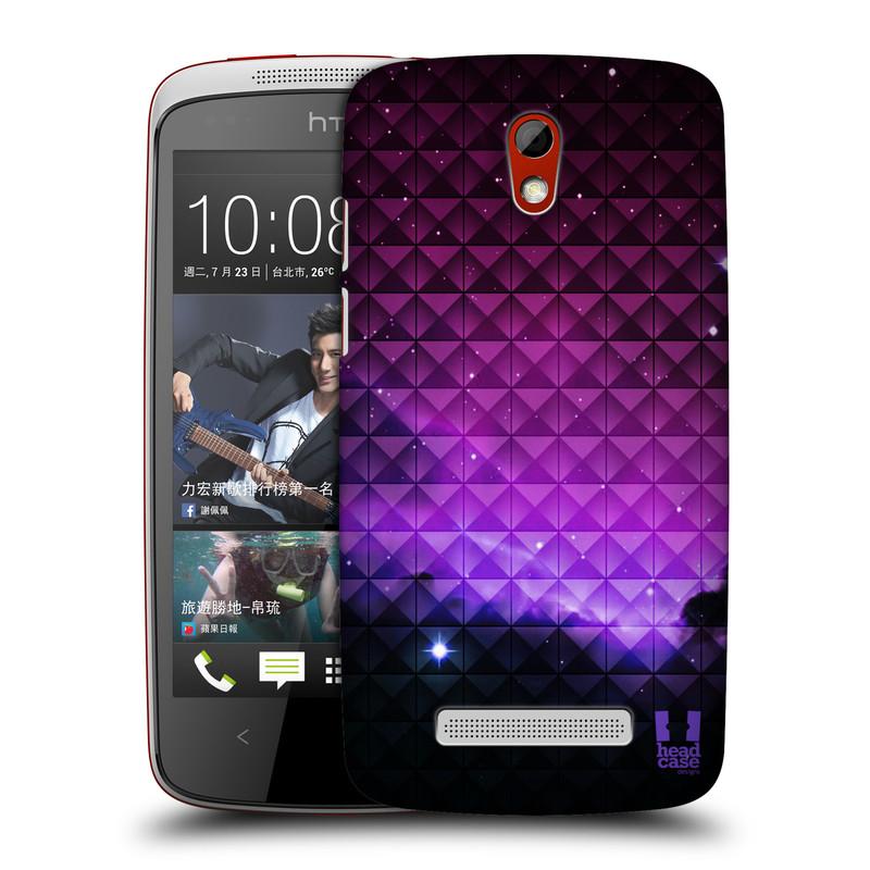 Plastové pouzdro na mobil HTC Desire 500 HEAD CASE PURPLE HAZE (Kryt či obal na mobilní telefon HTC Desire 500)