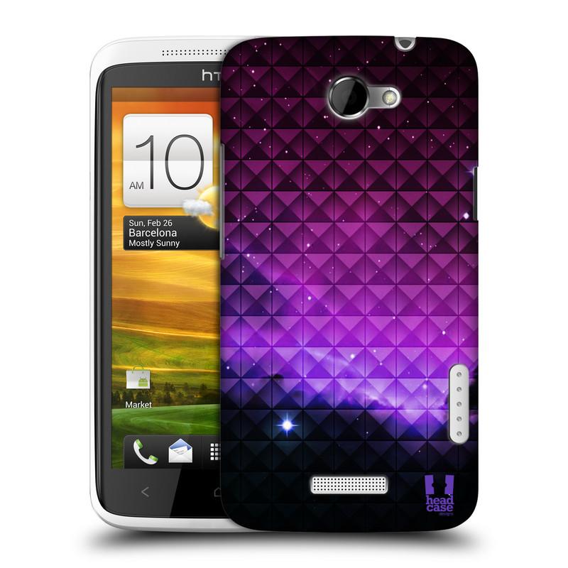 Plastové pouzdro na mobil HTC ONE X HEAD CASE PURPLE HAZE (Kryt či obal na mobilní telefon HTC ONE X)