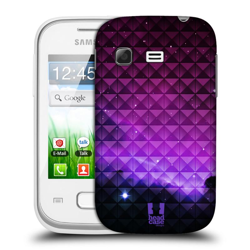 Plastové pouzdro na mobil Samsung Galaxy Pocket HEAD CASE PURPLE HAZE (Kryt či obal na mobilní telefon Samsung Galaxy Pocket GT-S5300)