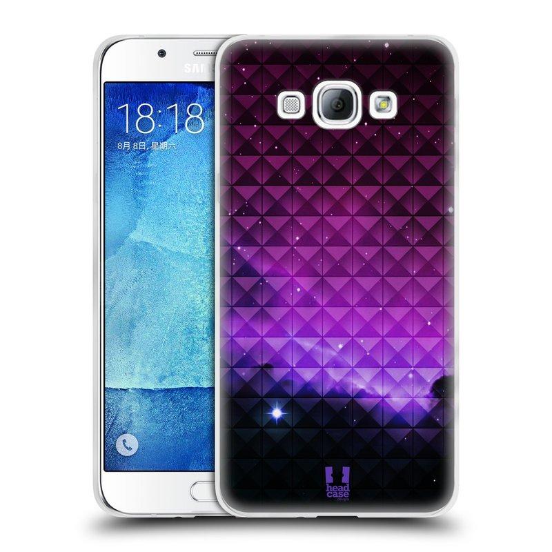 Silikonové pouzdro na mobil Samsung Galaxy A8 HEAD CASE PURPLE HAZE (Silikonový kryt či obal na mobilní telefon Samsung Galaxy A8 SM-A800)