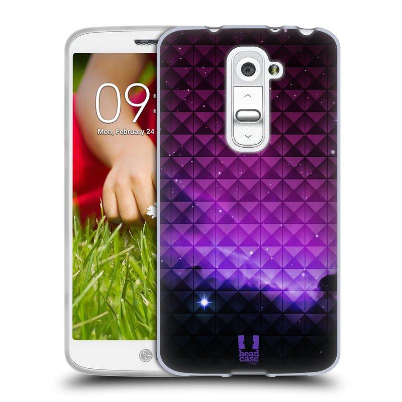 Silikonové pouzdro na mobil LG G2 Mini HEAD CASE PURPLE HAZE (Silikonový kryt či obal na mobilní telefon LG G2 Mini D620)