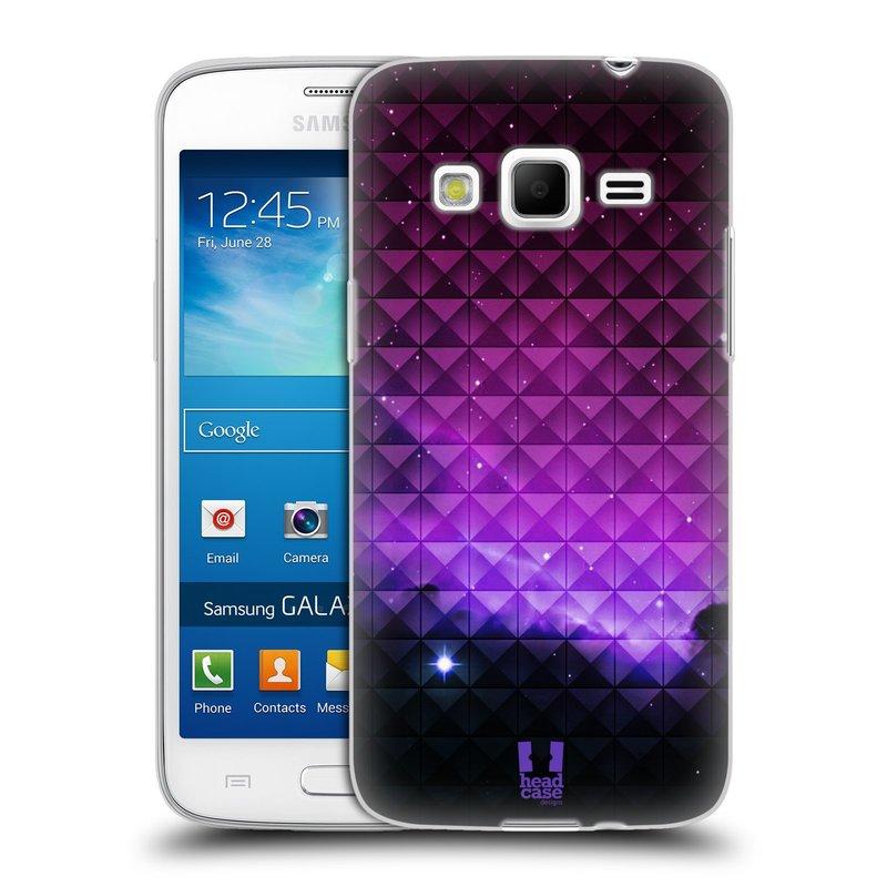 Silikonové pouzdro na mobil Samsung Galaxy Express 2 HEAD CASE PURPLE HAZE (Silikonový kryt či obal na mobilní telefon Samsung Galaxy Express 2 SM-G3815)