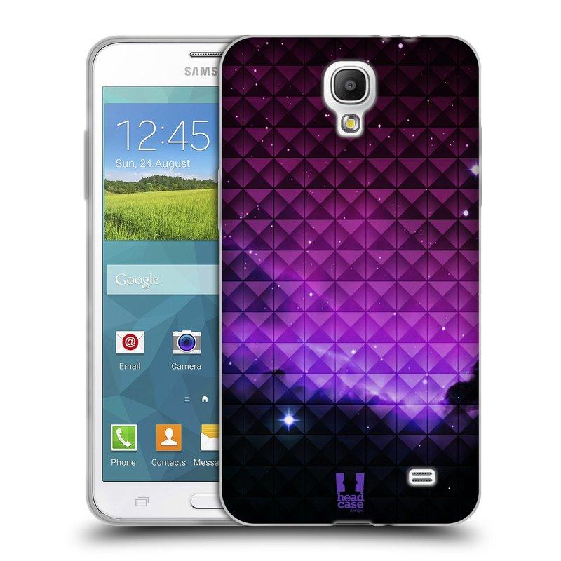 Silikonové pouzdro na mobil Samsung Galaxy Grand Mega 2 HEAD CASE PURPLE HAZE (Silikonový kryt či obal na mobilní telefon Samsung Galaxy Grand Mega 2 SM-G750)