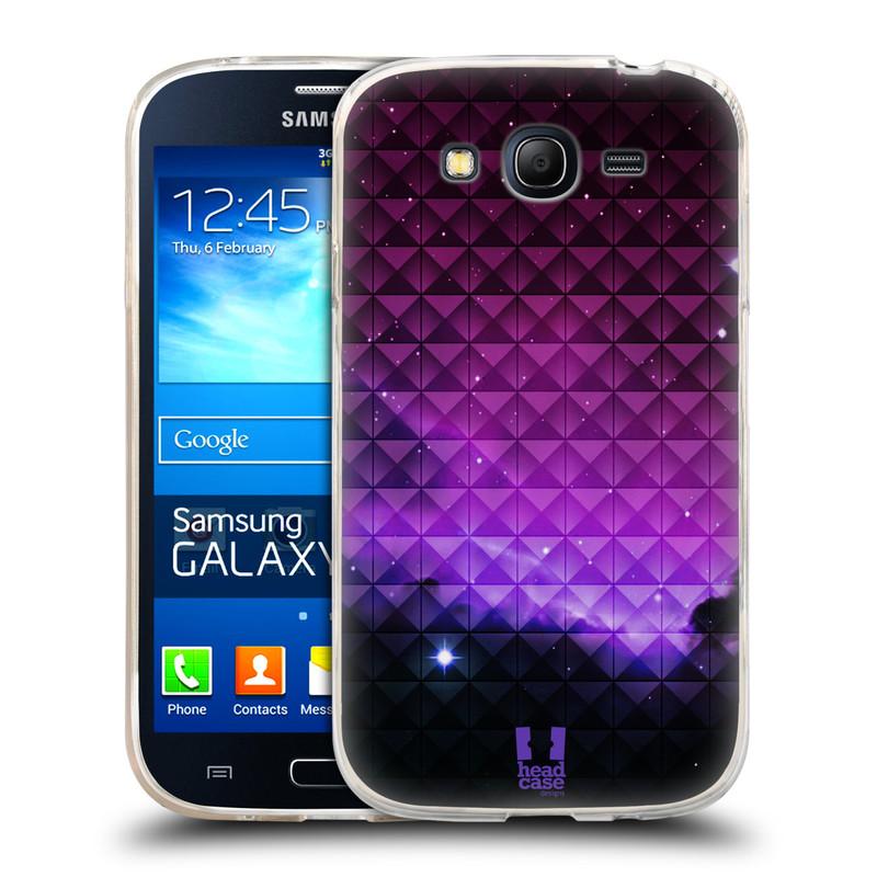 Silikonové pouzdro na mobil Samsung Galaxy Grand Neo HEAD CASE PURPLE HAZE (Silikonový kryt či obal na mobilní telefon Samsung Galaxy Grand Neo GT-I9060)