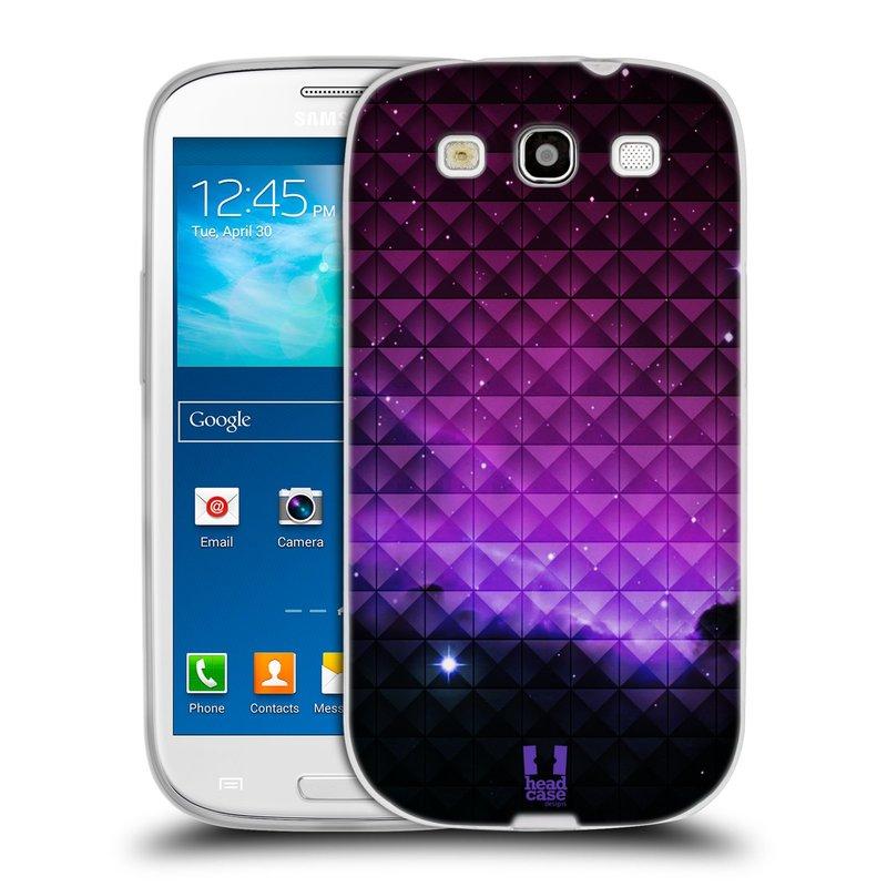 Silikonové pouzdro na mobil Samsung Galaxy S3 Neo HEAD CASE PURPLE HAZE (Silikonový kryt či obal na mobilní telefon Samsung Galaxy S3 Neo GT-i9301i)
