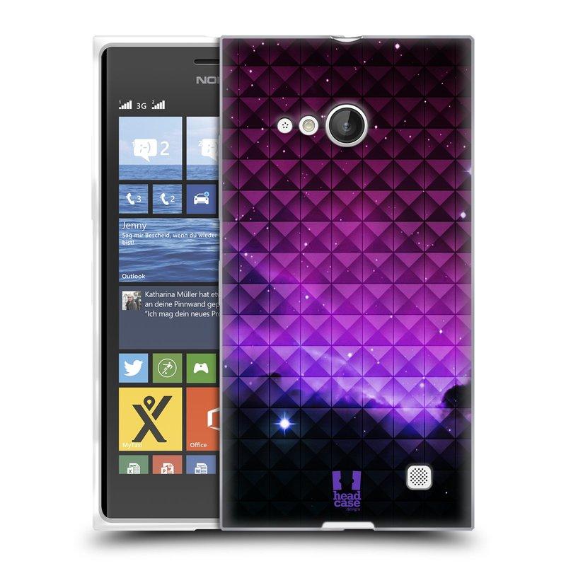 Silikonové pouzdro na mobil Nokia Lumia 730 Dual SIM HEAD CASE PURPLE HAZE (Silikonový kryt či obal na mobilní telefon Nokia Lumia 730 Dual SIM)