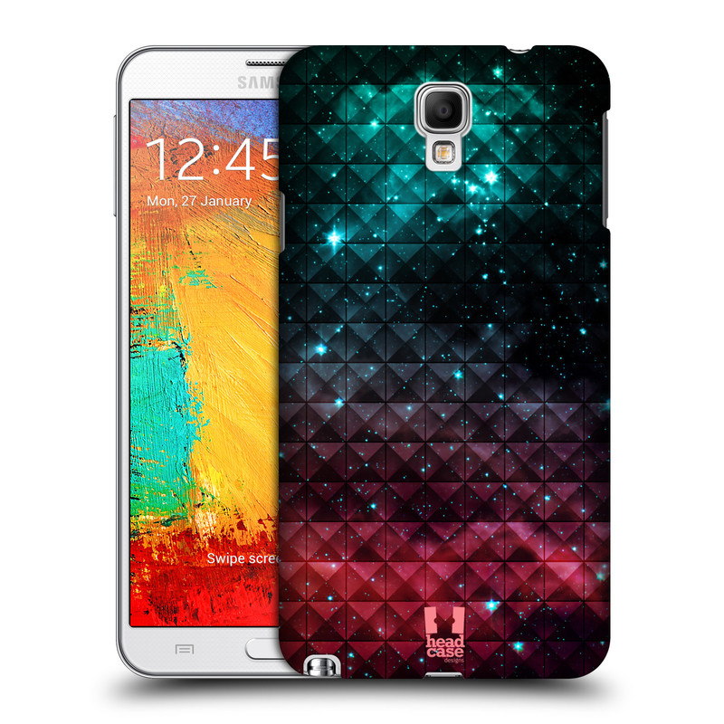 Plastové pouzdro na mobil Samsung Galaxy Note 3 Neo HEAD CASE OMBRE SPARKLE (Kryt či obal na mobilní telefon Samsung Galaxy Note 3 Neo SM-N7505)
