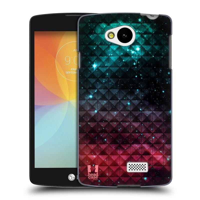 Plastové pouzdro na mobil LG F60 HEAD CASE OMBRE SPARKLE (Kryt či obal na mobilní telefon LG F60 D390n)