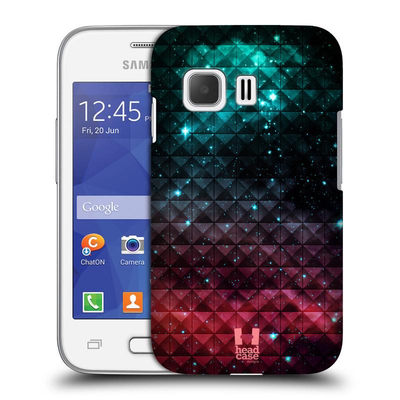 Plastové pouzdro na mobil Samsung Galaxy Young 2 HEAD CASE OMBRE SPARKLE (Kryt či obal na mobilní telefon Samsung Galaxy Young 2 SM-G130)