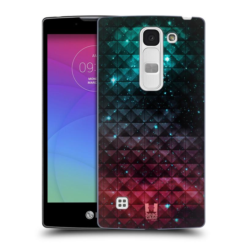 Plastové pouzdro na mobil LG Spirit LTE HEAD CASE OMBRE SPARKLE (Kryt či obal na mobilní telefon LG Spirit H420 a LG Spirit LTE H440N)