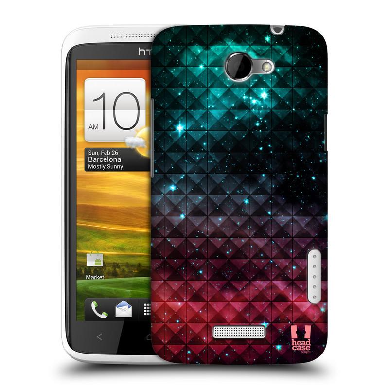 Plastové pouzdro na mobil HTC ONE X HEAD CASE OMBRE SPARKLE (Kryt či obal na mobilní telefon HTC ONE X)