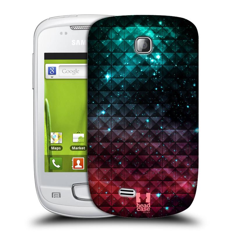 Plastové pouzdro na mobil Samsung Galaxy Mini HEAD CASE OMBRE SPARKLE (Kryt či obal na mobilní telefon Samsung Galaxy Mini GT-S5570 / GT-S5570i)