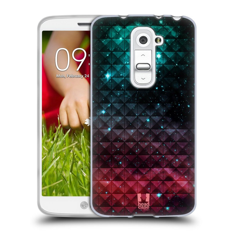 Silikonové pouzdro na mobil LG G2 Mini HEAD CASE OMBRE SPARKLE (Silikonový kryt či obal na mobilní telefon LG G2 Mini D620)