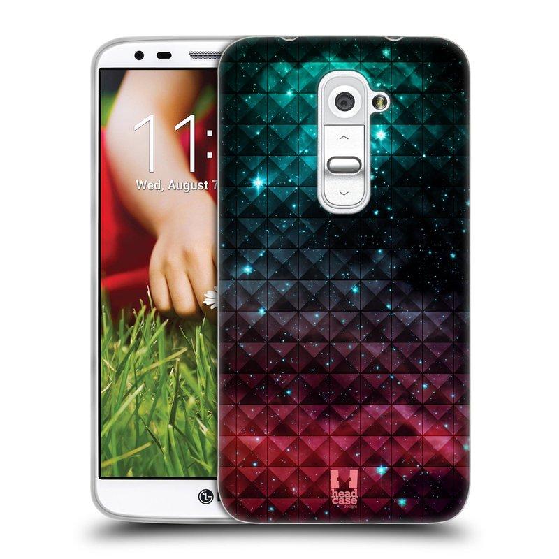 Silikonové pouzdro na mobil LG G2 HEAD CASE OMBRE SPARKLE (Silikonový kryt či obal na mobilní telefon LG G2 D802)
