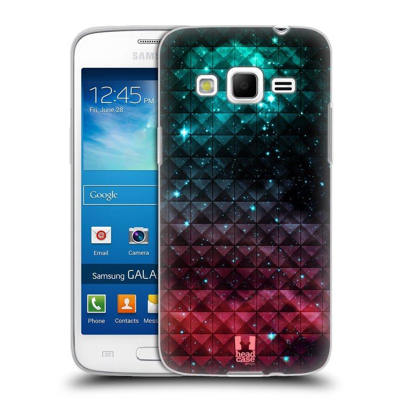 Silikonové pouzdro na mobil Samsung Galaxy Express 2 HEAD CASE OMBRE SPARKLE (Silikonový kryt či obal na mobilní telefon Samsung Galaxy Express 2 SM-G3815)