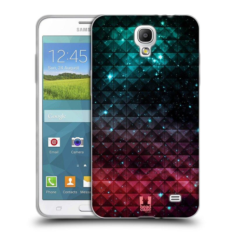 Silikonové pouzdro na mobil Samsung Galaxy Grand Mega 2 HEAD CASE OMBRE SPARKLE (Silikonový kryt či obal na mobilní telefon Samsung Galaxy Grand Mega 2 SM-G750)