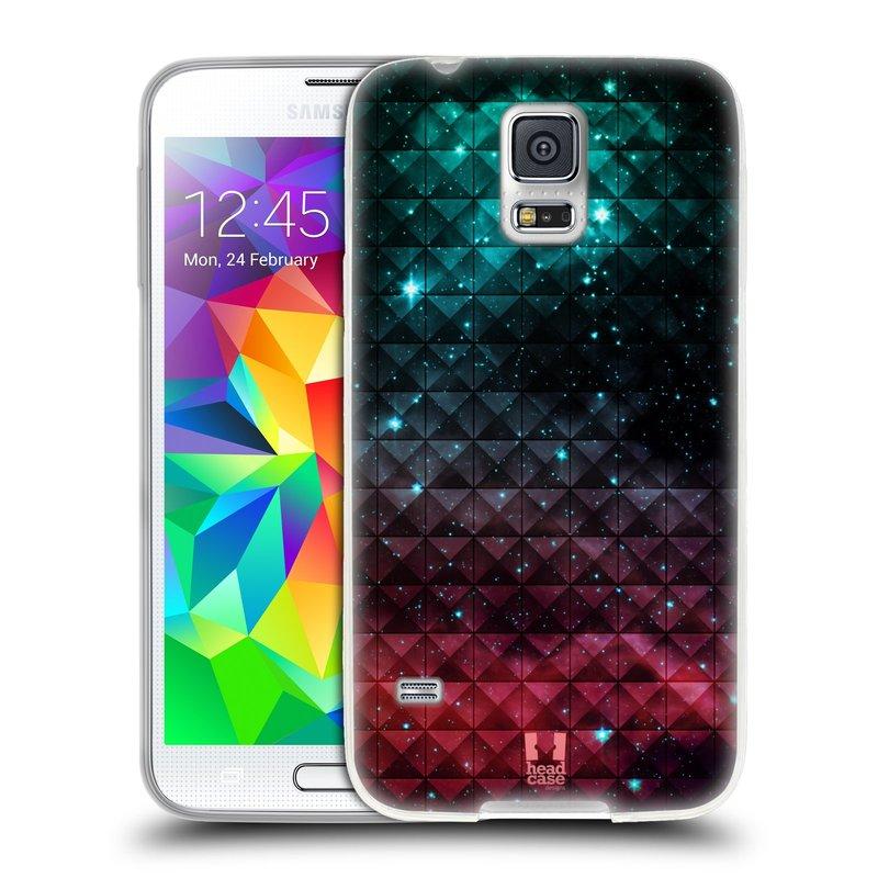 Silikonové pouzdro na mobil Samsung Galaxy S5 HEAD CASE OMBRE SPARKLE (Silikonový kryt či obal na mobilní telefon Samsung Galaxy S5 SM-G900F)