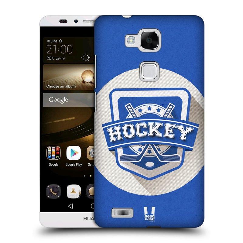 Plastové pouzdro na mobil Huawei Ascend Mate 7 HEAD CASE HOKEJ (Kryt či obal na mobilní telefon Huawei Ascend Mate7)