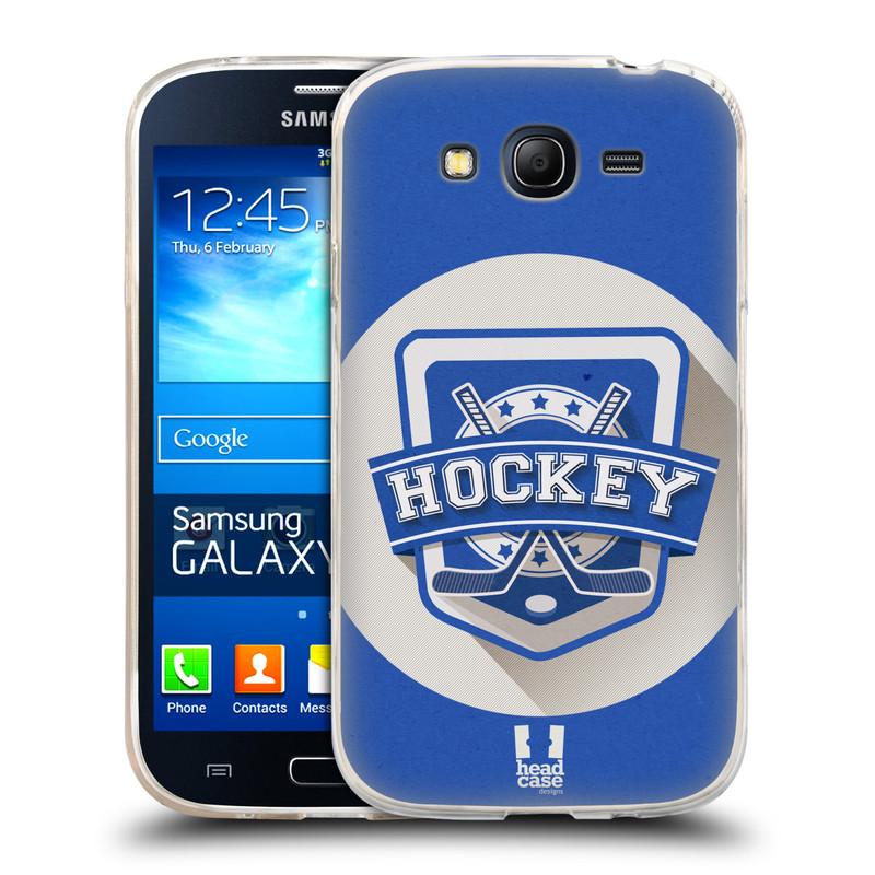 Silikonové pouzdro na mobil Samsung Galaxy Grand Neo Plus HEAD CASE HOKEJ (Silikonový kryt či obal na mobilní telefon Samsung Galaxy Grand Neo Plus Duos GT-I9060i)