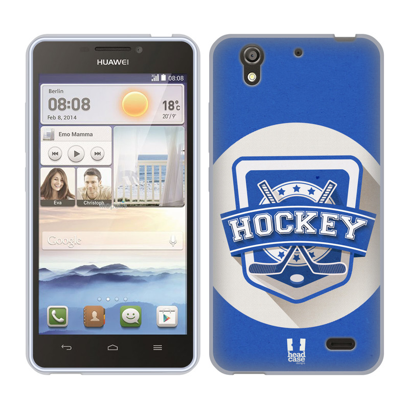 Silikonové pouzdro na mobil Huawei Ascend Y530 HEAD CASE HOKEJ (Silikonový kryt či obal na mobilní telefon Huawei Ascend Y530)