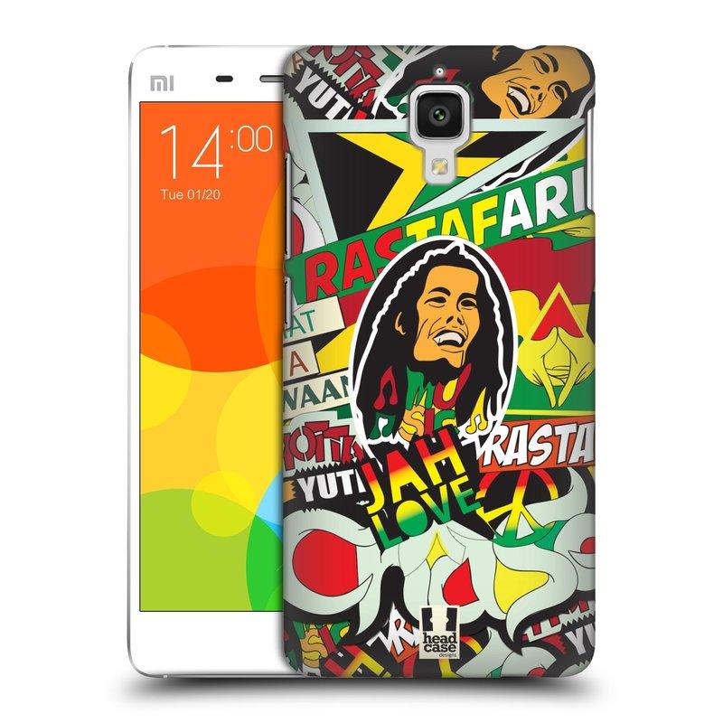 Plastové pouzdro na mobil Doogee Hitman DG850 HEAD CASE RASTA (Kryt či obal na mobilní telefon Doogee Hitman DG850)