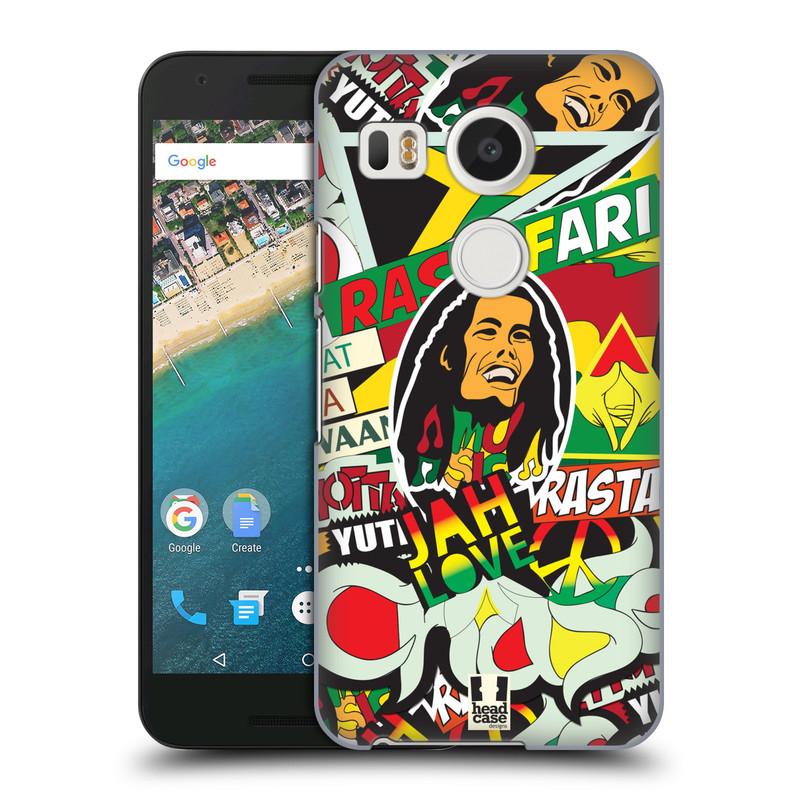 Plastové pouzdro na mobil LG Nexus 5X HEAD CASE RASTA (Kryt či obal na mobilní telefon LG NEXUS 5X H791)