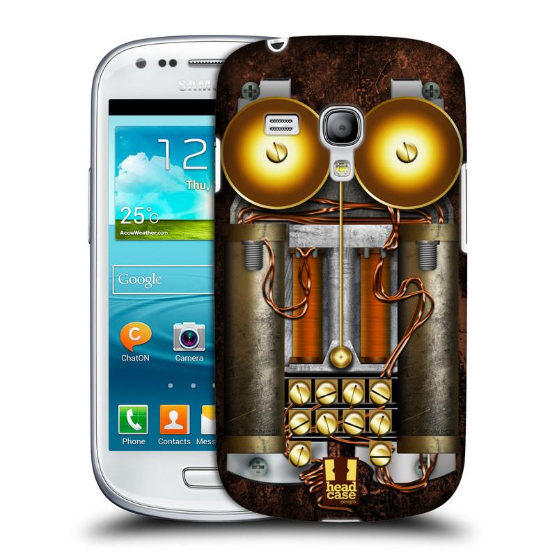 Plastové pouzdro na mobil Samsung Galaxy S III Mini HEAD CASE STEAMPUNK TELEFON (Kryt či obal na mobilní telefon Samsung Galaxy S III Mini GT-i8190)