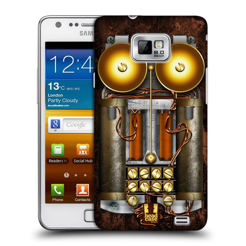 Plastové pouzdro na mobil Samsung Galaxy S II HEAD CASE STEAMPUNK TELEFON (Kryt či obal na mobilní telefon Samsung Galaxy S II GT-i9100)