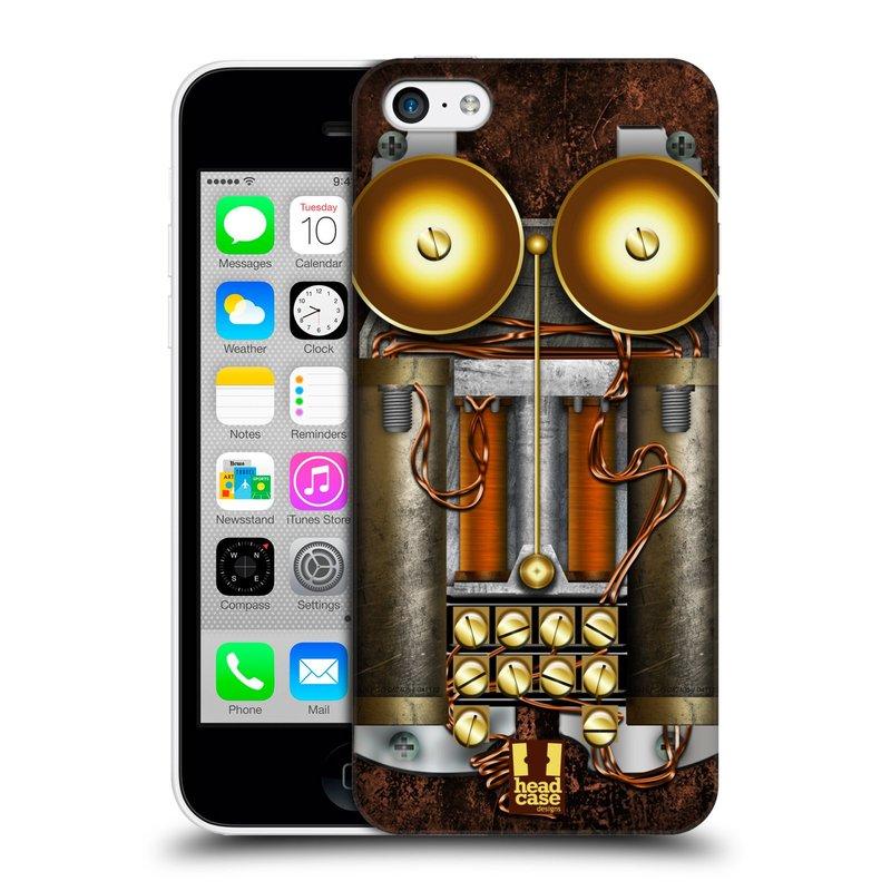 Plastové pouzdro na mobil Apple iPhone 5C HEAD CASE STEAMPUNK TELEFON (Kryt či obal na mobilní telefon Apple iPhone 5C)