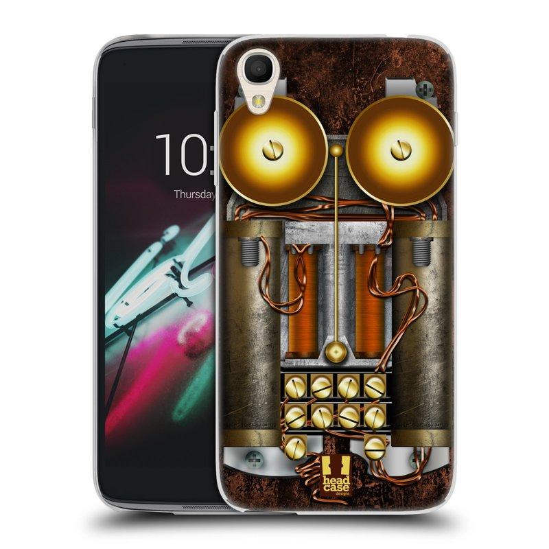 "Silikonové pouzdro na mobil Alcatel One Touch 6039Y Idol 3 HEAD CASE STEAMPUNK TELEFON (Silikonový kryt či obal na mobilní telefon Alcatel One Touch Idol 3 OT-6039Y s 4,7"" displejem)"