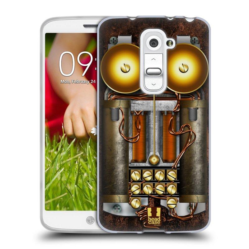 Silikonové pouzdro na mobil LG G2 Mini HEAD CASE STEAMPUNK TELEFON (Silikonový kryt či obal na mobilní telefon LG G2 Mini D620)