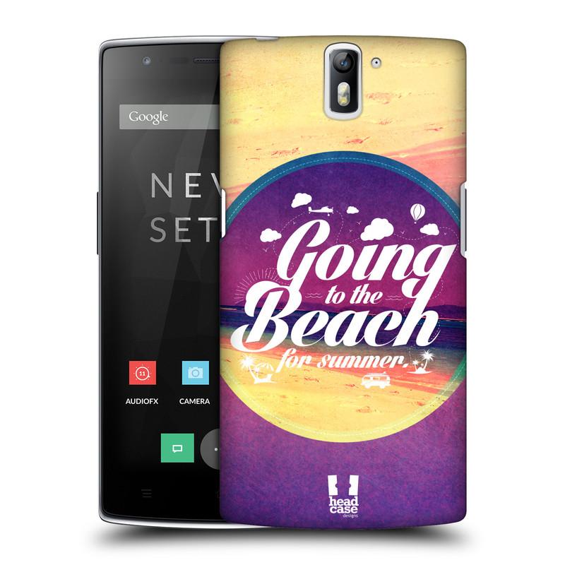 Plastové pouzdro na mobil OnePlus One HEAD CASE Léto na pláži (Kryt či obal na mobilní telefon OnePlus One)