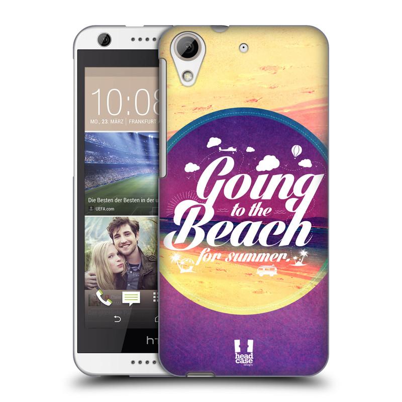 Plastové pouzdro na mobil HTC Desire 626 / 626G HEAD CASE Léto na pláži (Kryt či obal na mobilní telefon HTC Desire 626G Dual SIM a HTC Desire 626)