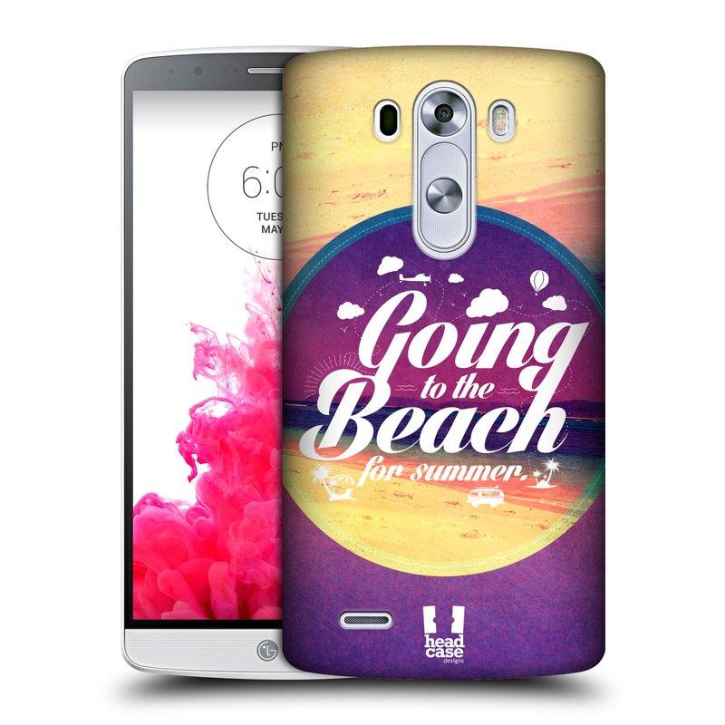 Plastové pouzdro na mobil LG G3 HEAD CASE Léto na pláži (Kryt či obal na mobilní telefon LG G3 D855)
