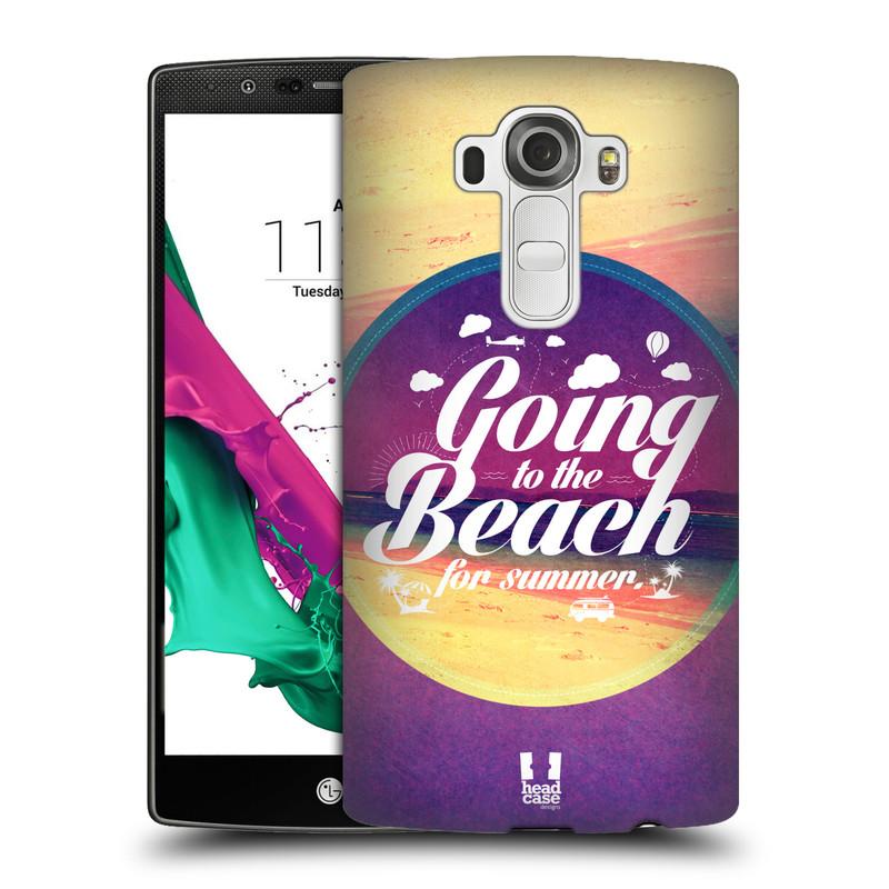 Plastové pouzdro na mobil LG G4 HEAD CASE Léto na pláži (Kryt či obal na mobilní telefon LG G4 H815)