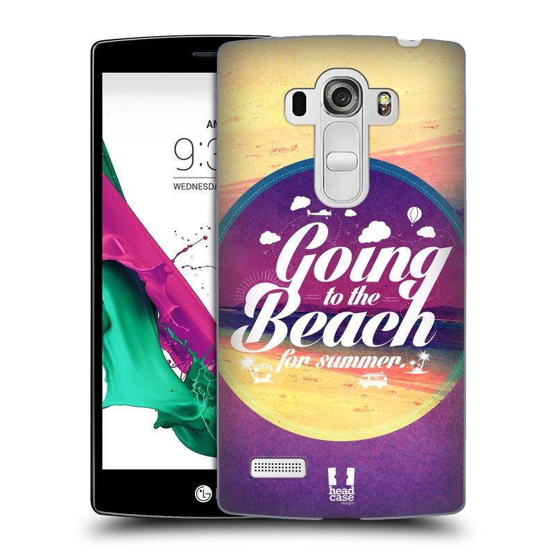Plastové pouzdro na mobil LG G4s HEAD CASE Léto na pláži (Kryt či obal na mobilní telefon LG G4s H735n)