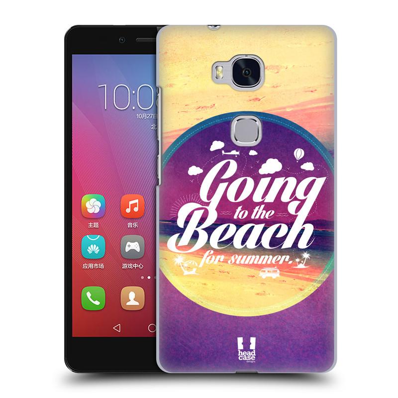 Plastové pouzdro na mobil Honor 5X HEAD CASE Léto na pláži (Kryt či obal na mobilní telefon Huawei Honor 5X)