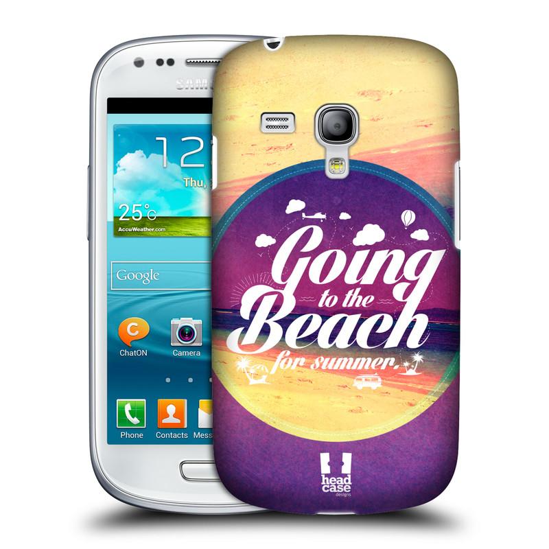 Plastové pouzdro na mobil Samsung Galaxy S III Mini HEAD CASE Léto na pláži (Kryt či obal na mobilní telefon Samsung Galaxy S III Mini GT-i8190)