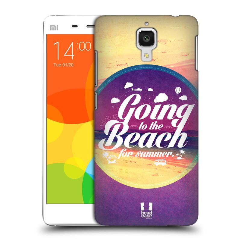 Plastové pouzdro na mobil Xiaomi Mi4 HEAD CASE Léto na pláži (Kryt či obal na mobilní telefon Xiaomi Mi4)