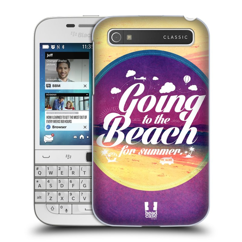 Plastové pouzdro na mobil Blackberry Classic HEAD CASE Léto na pláži (Kryt či obal na mobilní telefon Blackberry Classic)