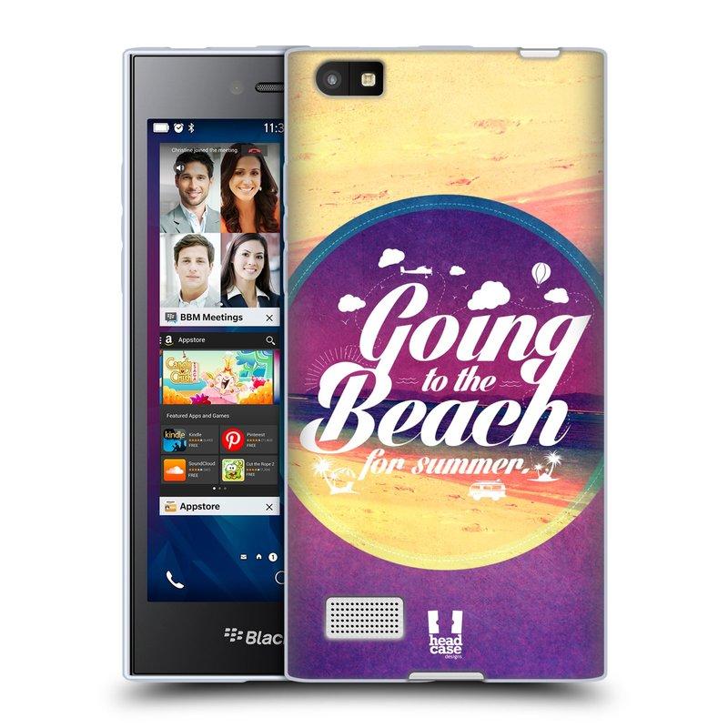 Silikonové pouzdro na mobil Blackberry Leap HEAD CASE Léto na pláži (Silikonový kryt či obal na mobilní telefon Blackberry Leap)