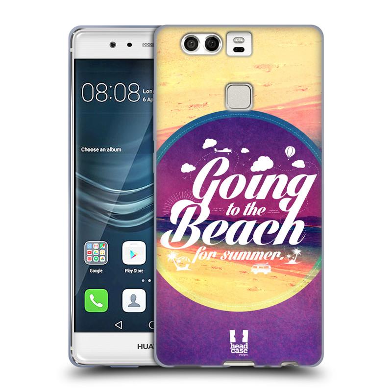 Silikonové pouzdro na mobil Huawei P9 HEAD CASE Léto na pláži (Silikonový kryt či obal na mobilní telefon Huawei P9)