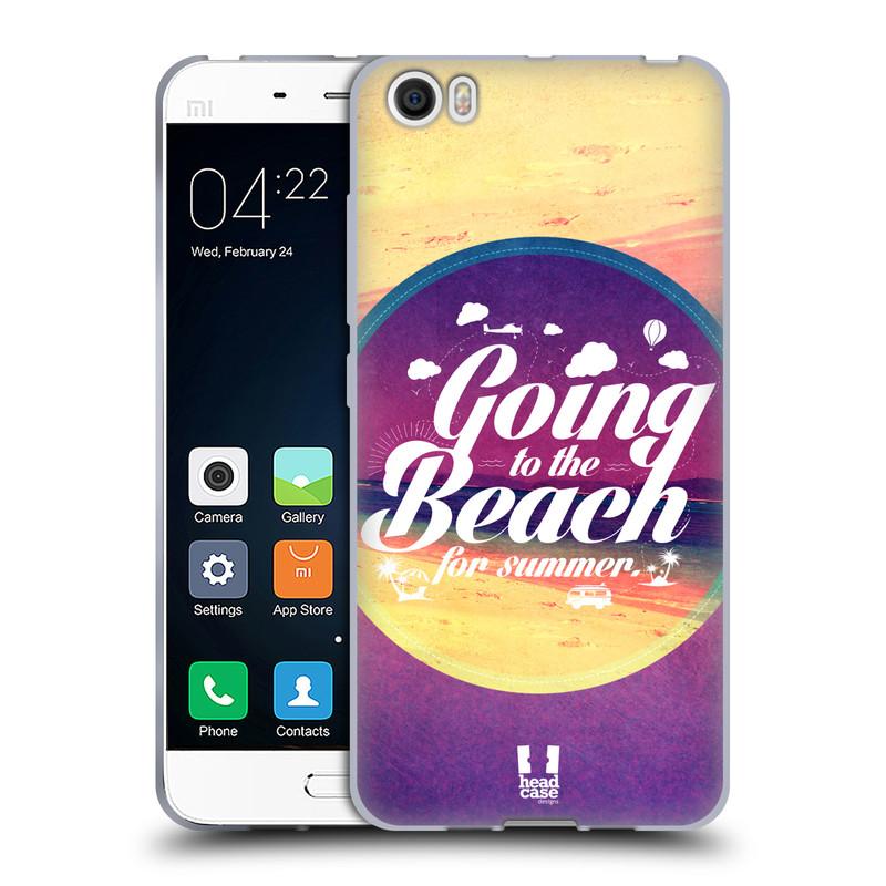 Silikonové pouzdro na mobil Xiaomi Mi5 HEAD CASE Léto na pláži (Silikonový kryt či obal na mobilní telefon Xiaomi Mi5)