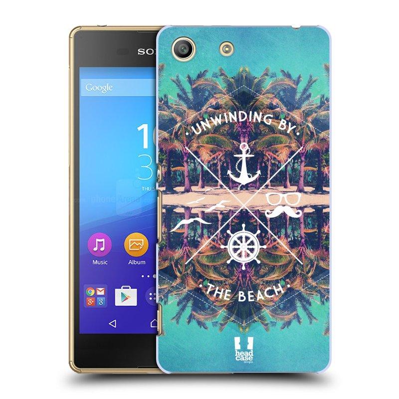 Plastové pouzdro na mobil Sony Xperia M5 HEAD CASE Bezvětří (Kryt či obal na mobilní telefon Sony Xperia M5 Aqua)