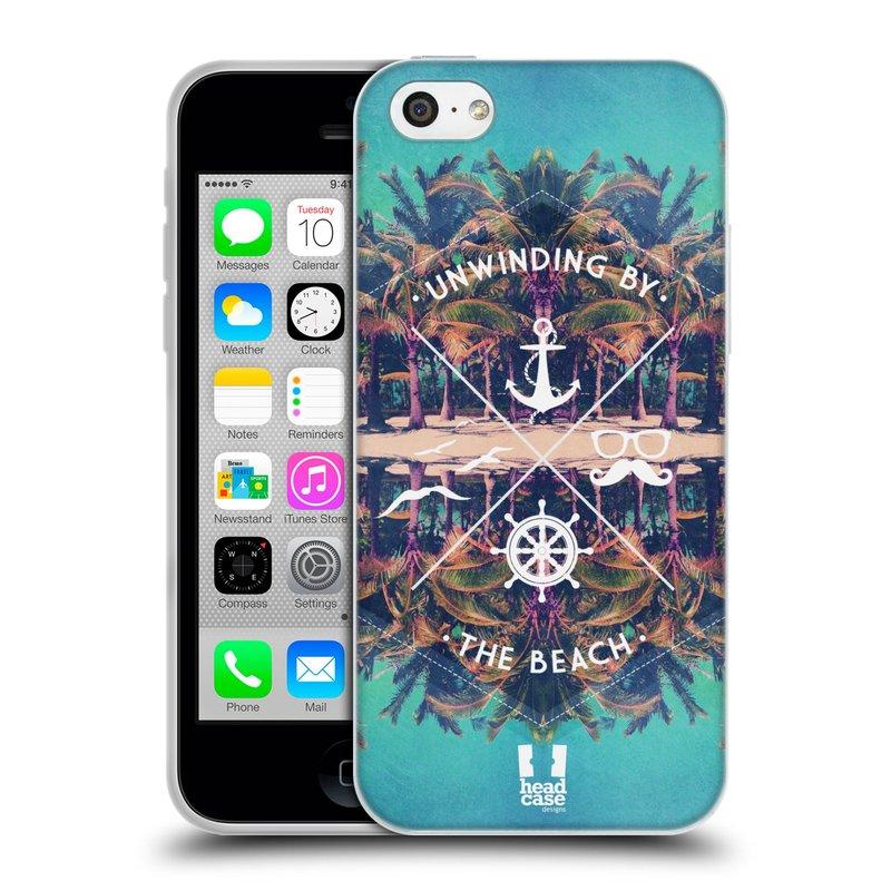 Silikonové pouzdro na mobil Apple iPhone 5C HEAD CASE Bezvětří (Silikonový kryt či obal na mobilní telefon Apple iPhone 5C)