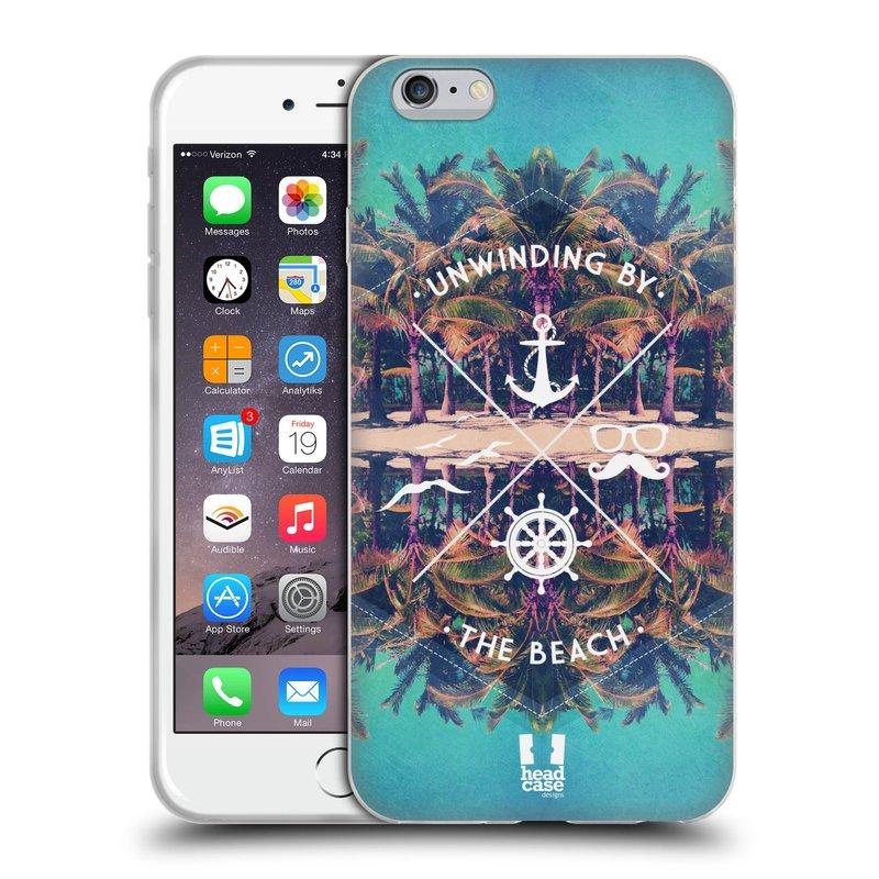 Silikonové pouzdro na mobil Apple iPhone 6 Plus a 6S Plus HEAD CASE Bezvětří (Silikonový kryt či obal na mobilní telefon Apple iPhone 6 Plus a 6S Plus)