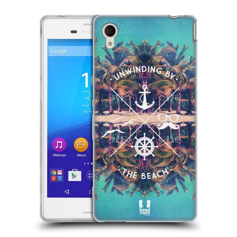Silikonové pouzdro na mobil Sony Xperia M4 Aqua E2303 HEAD CASE Bezvětří (Silikonový kryt či obal na mobilní telefon Sony Xperia M4 Aqua a M4 Aqua Dual SIM)