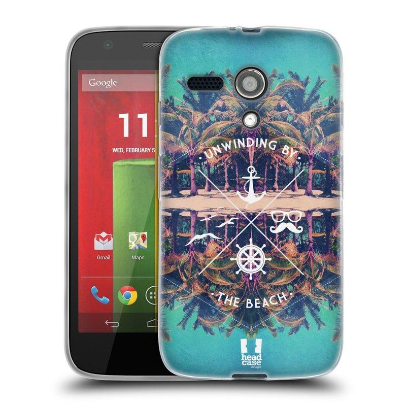 Silikonové pouzdro na mobil Motorola Moto G HEAD CASE Bezvětří (Silikonový kryt či obal na mobilní telefon Motorola Moto G)