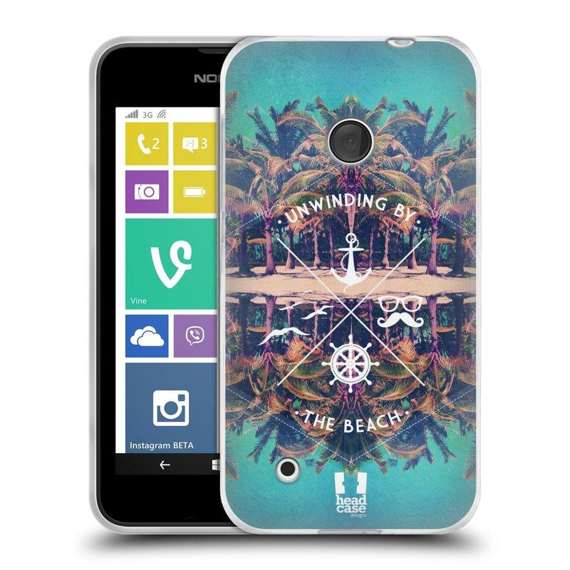 Silikonové pouzdro na mobil Nokia Lumia 530 HEAD CASE Bezvětří (Silikonový kryt či obal na mobilní telefon Nokia Lumia 530)